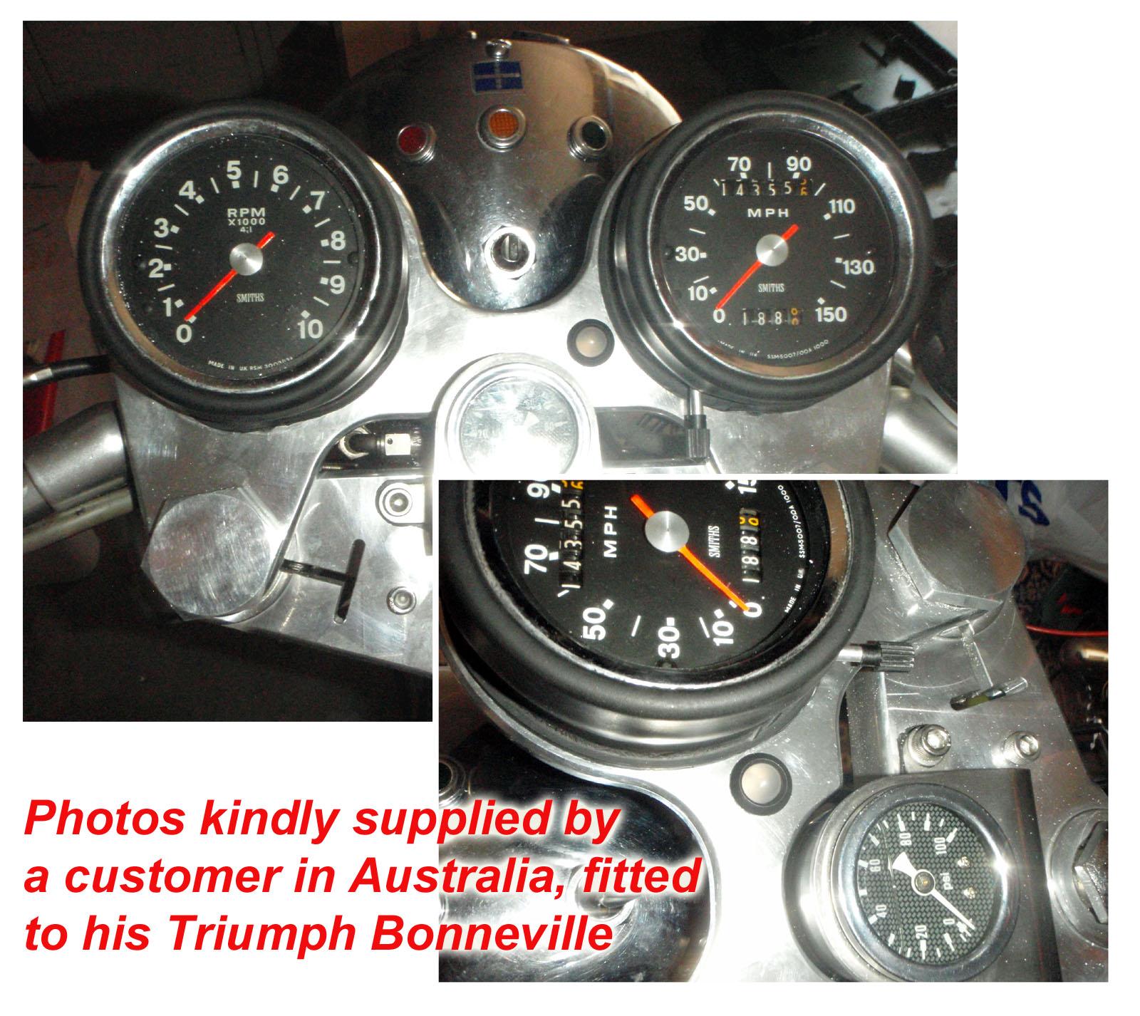 Icmcom Battery Alternator Ignition Warning Lights Charge Monitors Free Harley Davidson Wiring Diagrams 1973 Triumph Bonneville Light